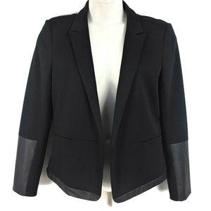 Ann Taylor Womens 12 Black Blazer Jacket